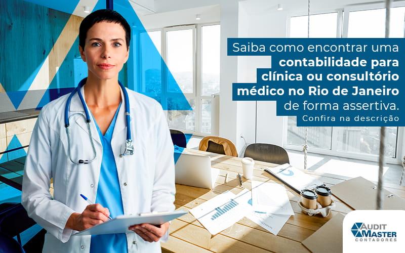 Contabilidade para clínica ou consultório médico no Rio de Janeiro