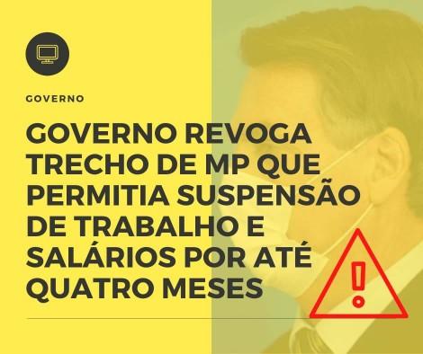 Governo Revoga Trecho De Mp - Contabilidade no Rio de Janeiro - Audit Master Contadores